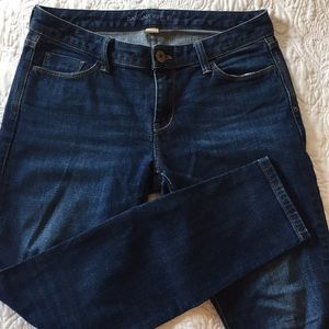 Dark Wash Mid-Rise Banana Republic Jeans